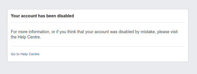 Someone have been busy reporting my account @facebook @finkd